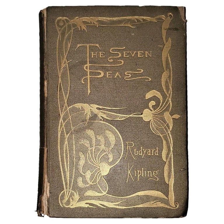 The Seven Seas by Rudyard Kipling First Edition For Sale