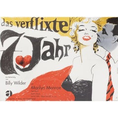 The Seven Year Itch R1966 German A0 Film Poster