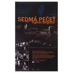 The Seventh Seal R2000s Czech A2 Film Poster