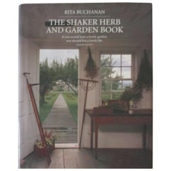 The Shaker Herb and Garden Vintage Book by R. Buchannan