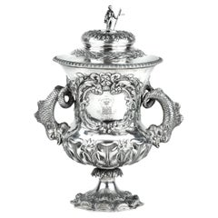 Shannon Yacht Club Silver Racing Trophy for 1859