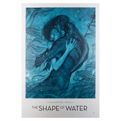 """The Shape of Water"" US Special Film Movie Poster, 2017 James Jean"