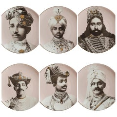 The Sil Road Maharaja Dinner Plates Set of 6