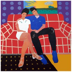 'The Soft Spot' Portrait Painting by Alan Fears Pop Art