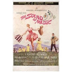 """""""The Sound of Music"""" 1965 U.S. One Sheet Film Poster"""