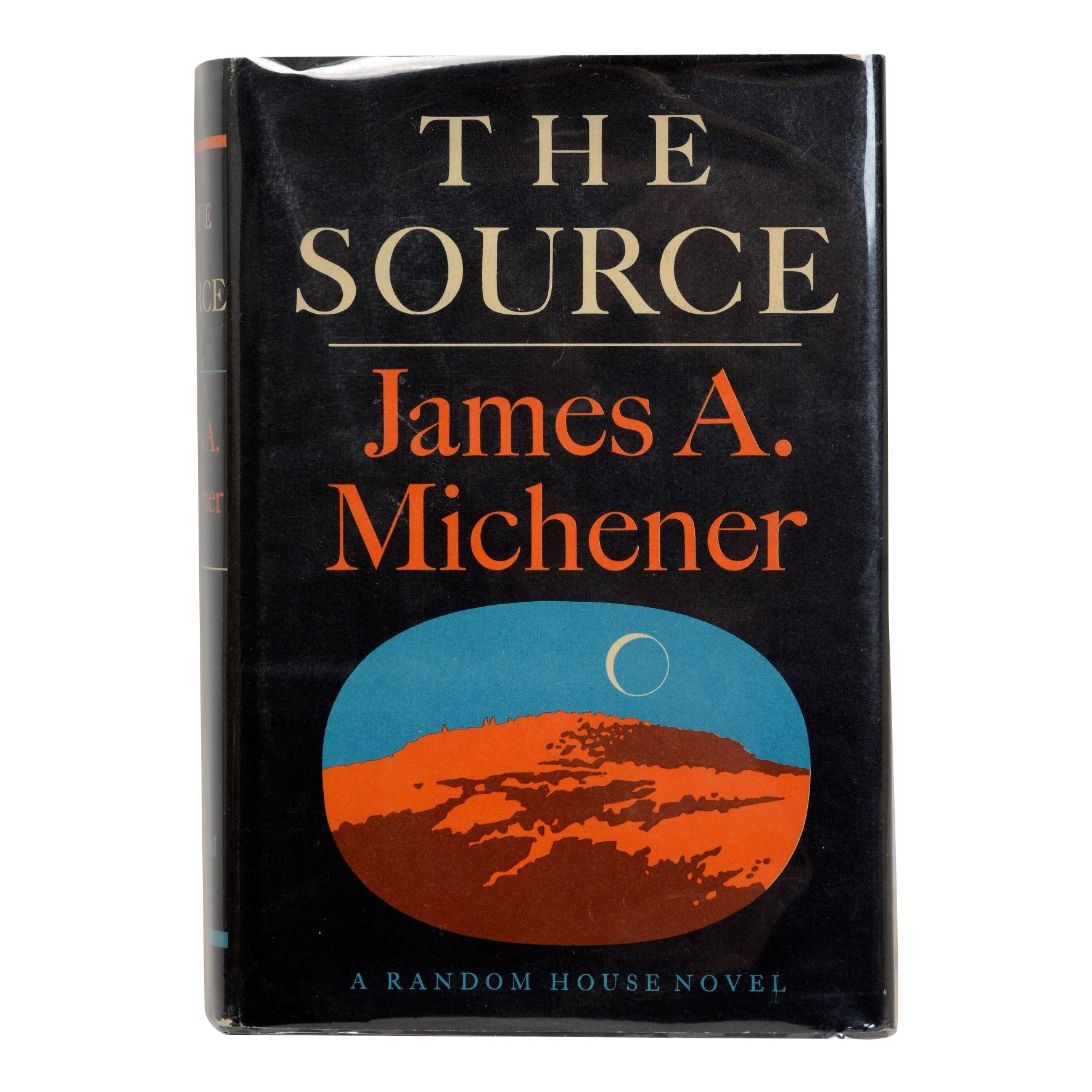The Source by James A. Michener, First Edition 1st Printing