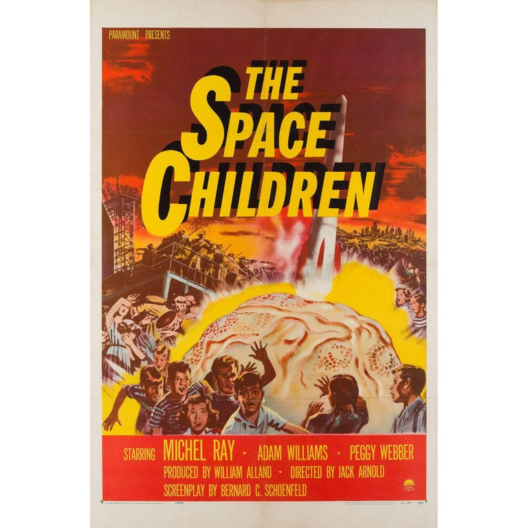 """""""The Space Children"""" US Film Poster, 1958"""