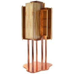 Special Tree Cabinet, Woods and Copper, InsidherLand by Joana Santos Barbosa