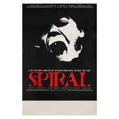 The Spiral 1976 British Double Crown Film Poster