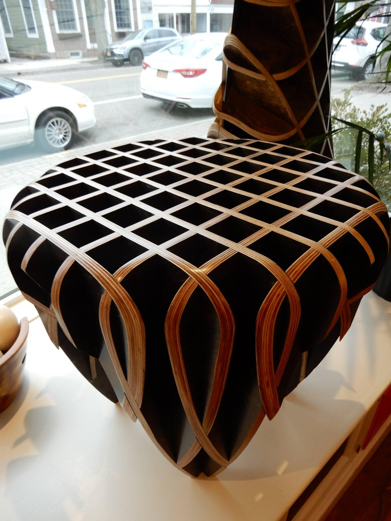 Contemporary Artisan Side Table from the