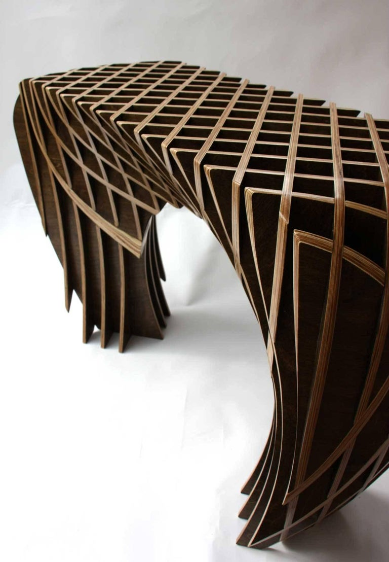 Birch Artisan Side Table from the