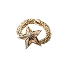 The Star Bracelet by Bibi van der Velden 130 Carat Smokey Quartz Diamonds Gold