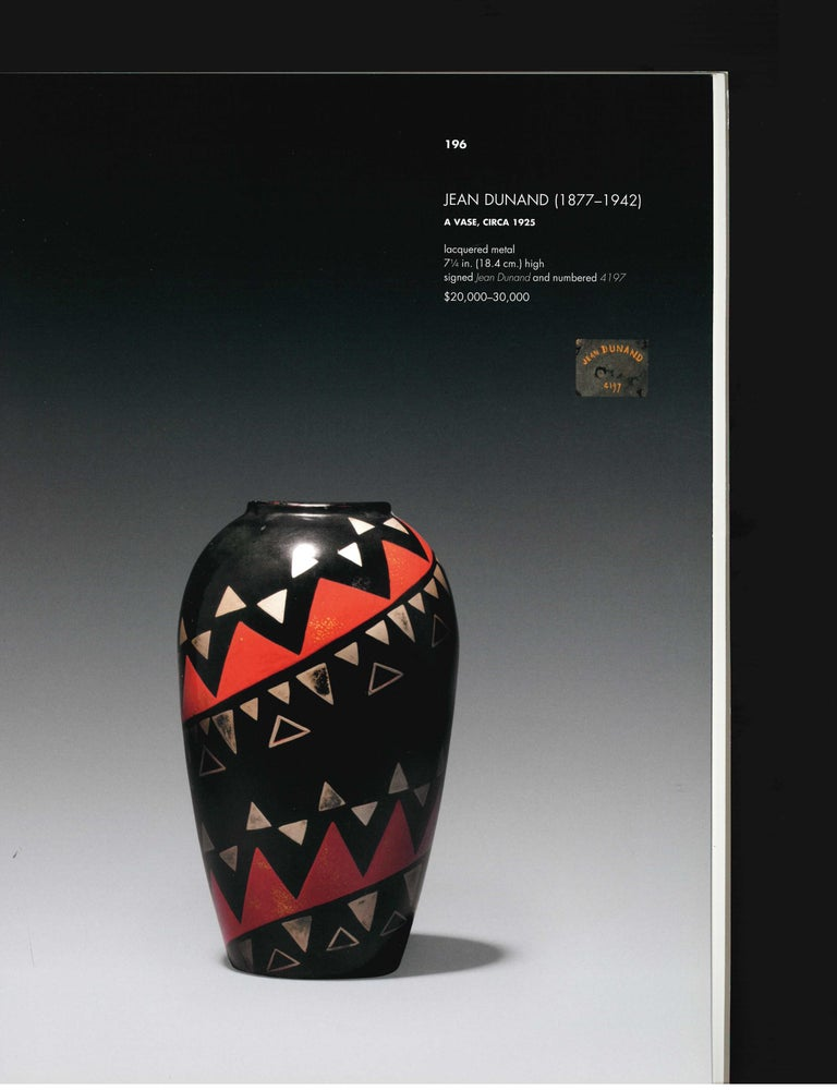 The Steven a Greenberg Collection - Masterpieces of French Art Deco, 2012 Sale For Sale 9