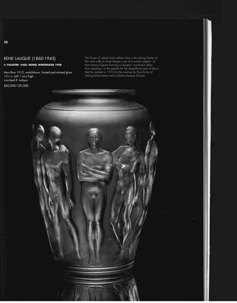 The Steven a Greenberg Collection - Masterpieces of French Art Deco, 2012 Sale For Sale 2