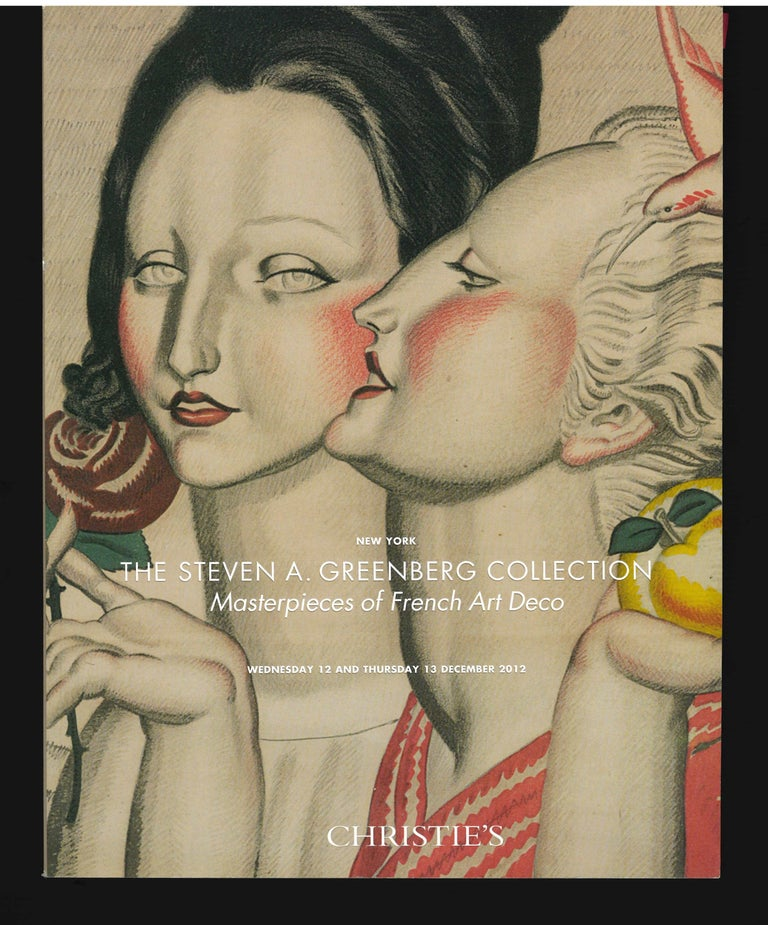 The Steven a Greenberg Collection - Masterpieces of French Art Deco, 2012 Sale For Sale 3