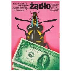 The Sting 1973 Polish A1 Film Poster, Procka