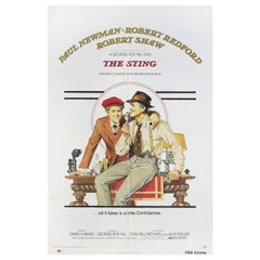 'The Sting' 1973 U.S. One Sheet Film Poster