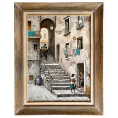 """The Stone Steps, Italy"" by Henry Martin Gasser"