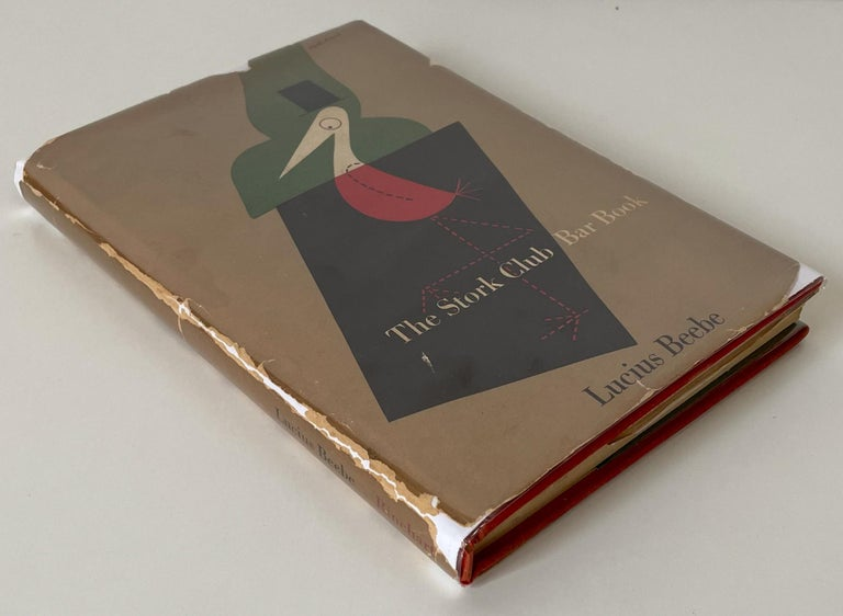 First edition, first printing of this classic Madmen-era mixology tome from one of New York's storied nightclubs. 136 pages, 8vo hardcover with price-clipped dust jacket. Cover and typography design by Paul Rand. Scarce, especially with a laid-in