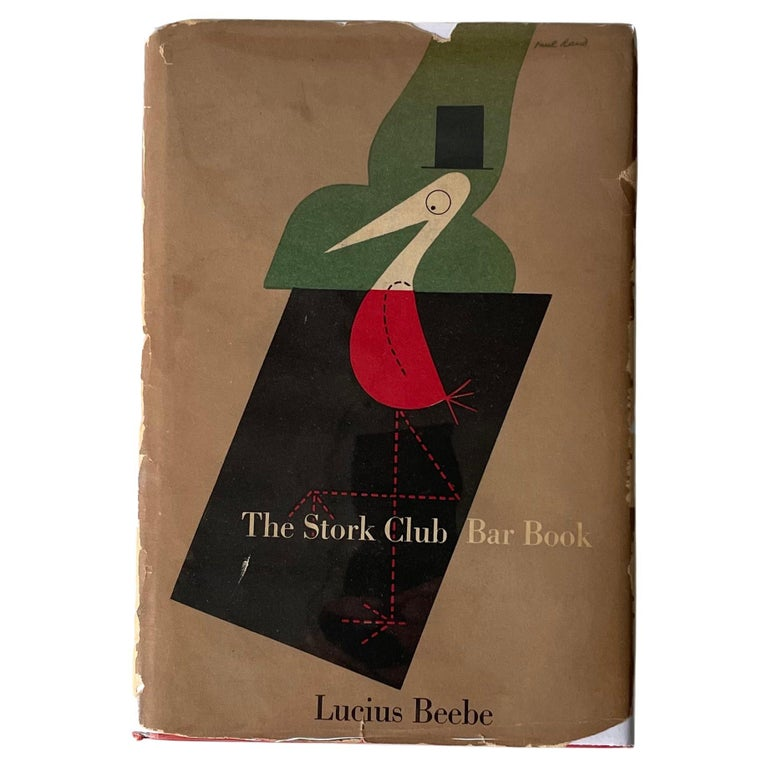 The Stork Club Bar Book For Sale