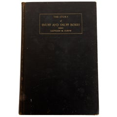 'The Story of Snuff and Snuff Boxes', Mattoon M. Curtis First Edition Inscribed