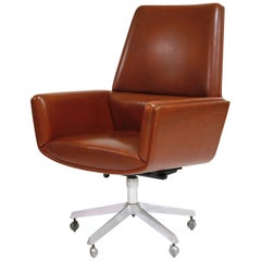 The Technocrat Group Model 210 Executive Chair by Finn Juhl, circa 1965, Signed