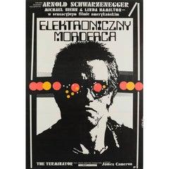 The Terminator Polish Film Poster, Jakub Erol, 1987