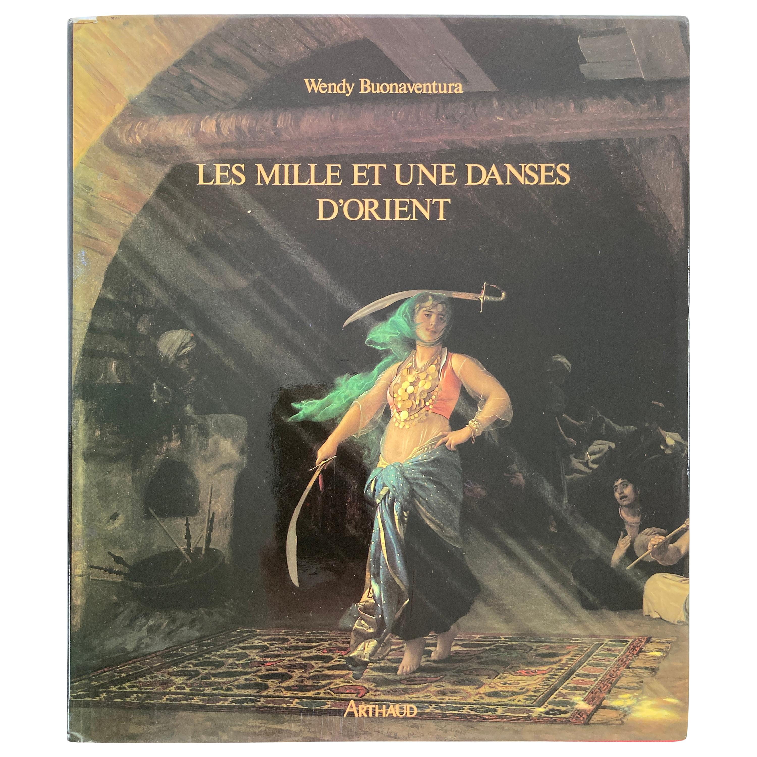 The Thousand and One Dances of the Orient 'French' Hardcover Coffee Table Book