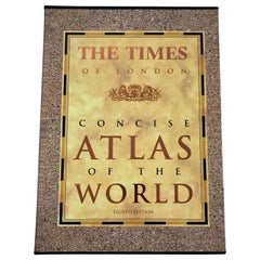 The Times of London Concise Atlas of the World Book