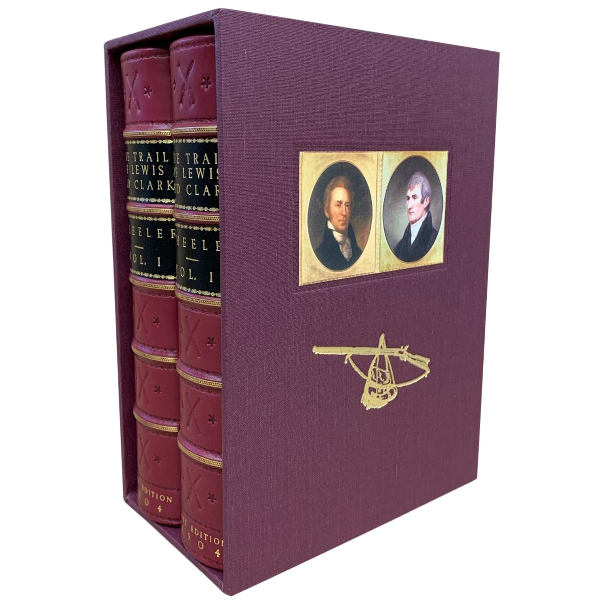 The Trail of Lewis and Clark by Olin Wheeler, First Edition, 2-Volumes, 1904