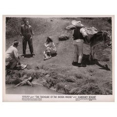 The Treasure of the Sierra Madre 1948 U.S. Silver Gelatin Single-Weight Photo