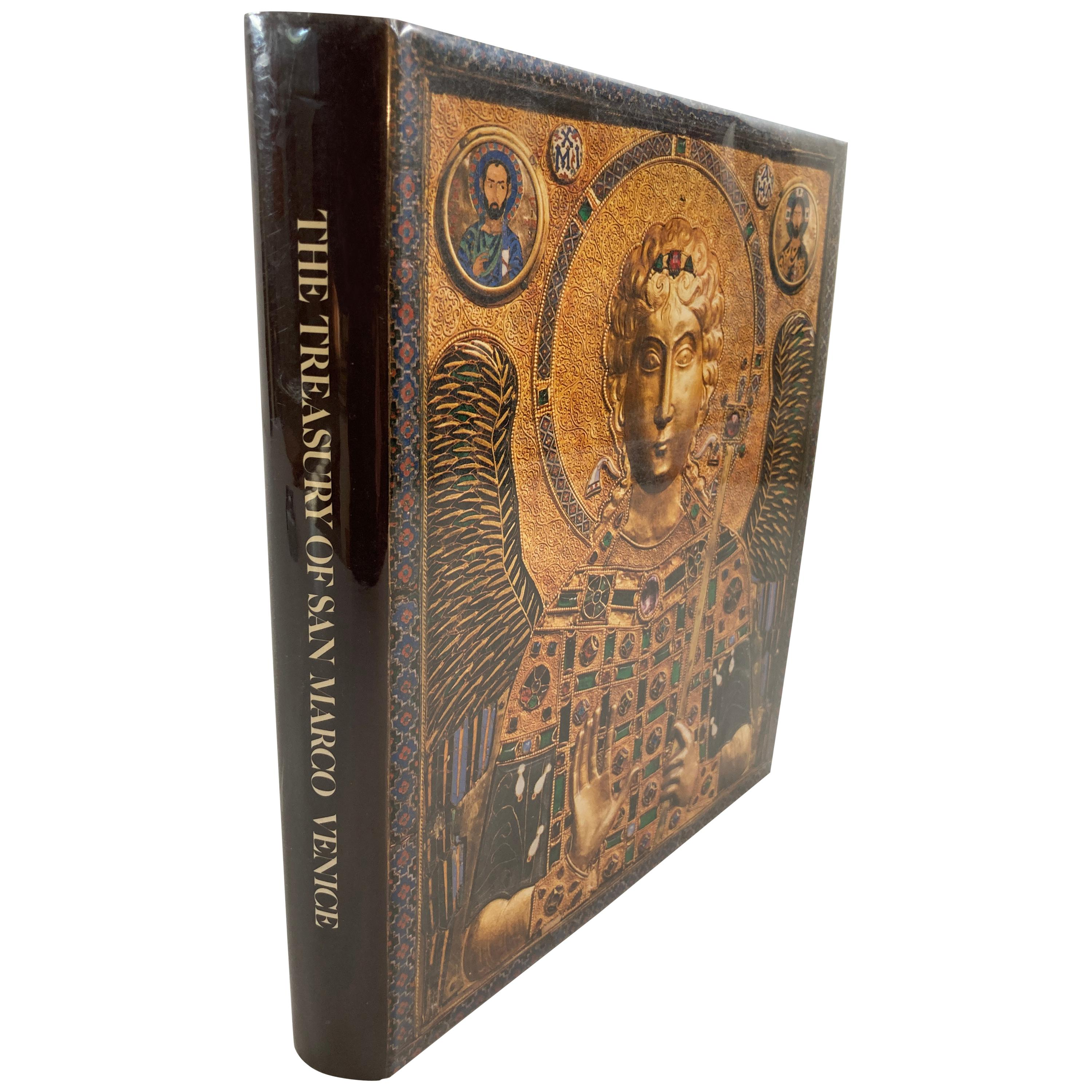 The Treasury of San Marco, Venice First Edition by David Buckton Hardcover Book