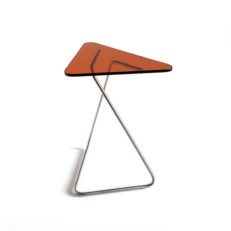 Contemporary Triangle Side Table by Rita Kettaneh For Sale