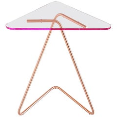 Triangle Side Table by Rita Kettaneh