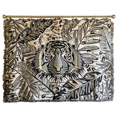 The Tropics Collection 'Tiger' Woven Throw