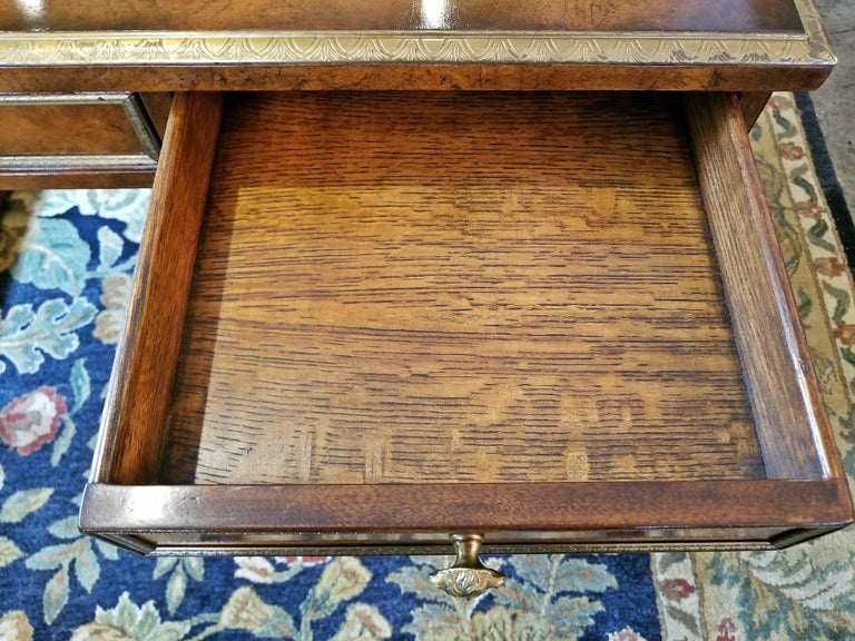 Tsar Desk Replica by Theodore Alexander For Sale 8