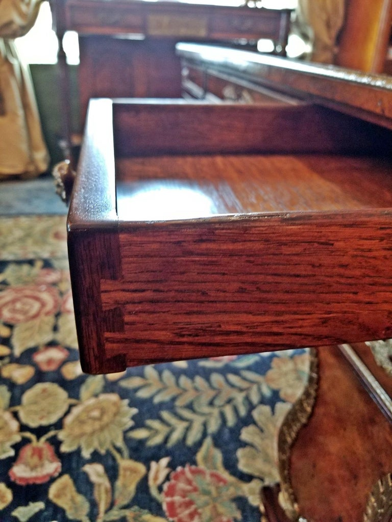 Tsar Desk Replica by Theodore Alexander For Sale 9