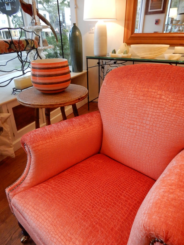 George III Unequivocal Dahl Armchair by George Smith, 1990s For Sale
