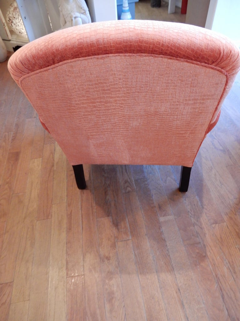 Hand-Crafted Unequivocal Dahl Armchair by George Smith, 1990s For Sale