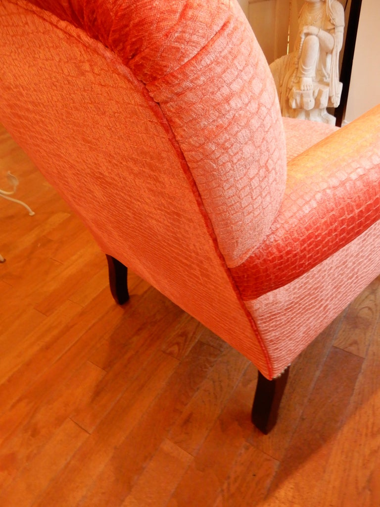 Unequivocal Dahl Armchair by George Smith, 1990s In Excellent Condition For Sale In Bellport, NY