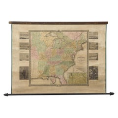 """The United States from the Latest Authorities"" Antique Wall Map, 1835"