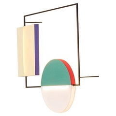 The Vaalbeek Project, Sconce, Double Paper Shade