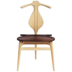 The Valet Chair, Model PP250, of Maple and Wengé Designed by Hans J. Wegner