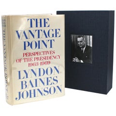 The Vantage Point, Signed by Lyndon B. Johnson, First Edition, 1971