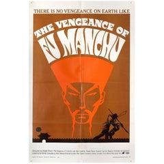 """The Vengeance of Fu Manchu"" 1967 U.S. One Sheet Film Poster"