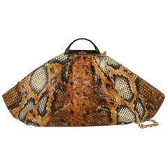 The Volon Woman Shoulder bag  Brown Leather
