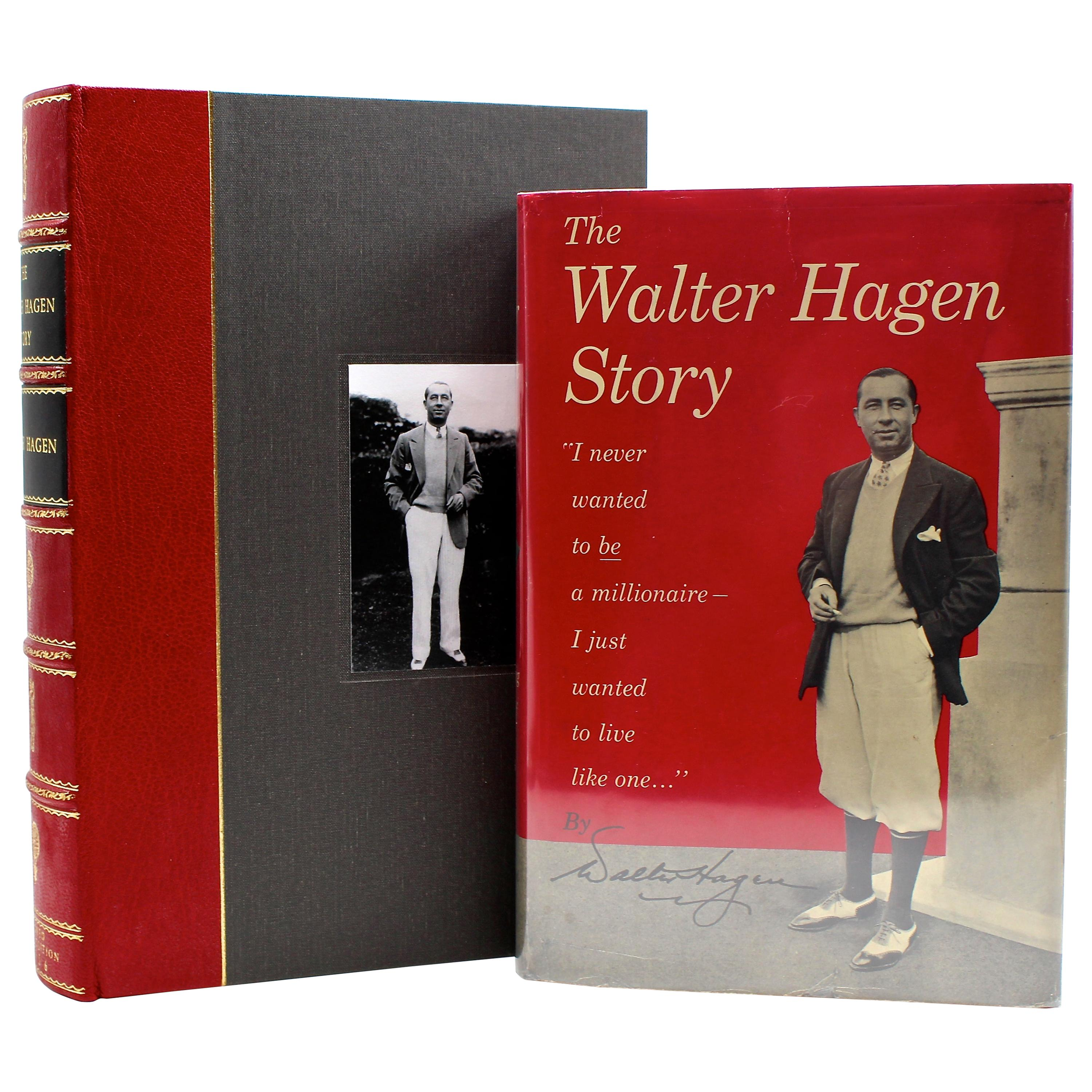 """""""The Walter Hagen Story"""" Signed by Walter Hagen, First Edition, 1956"""