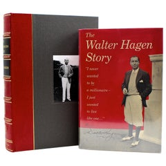 """The Walter Hagen Story"" Signed by Walter Hagen, First Edition, 1956"