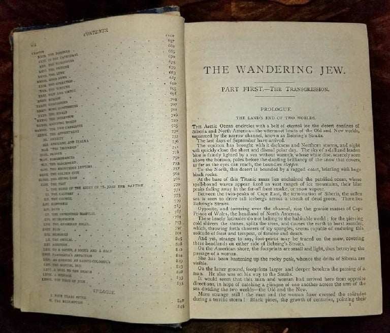 The Wandering Jew by Eugene Sue Complete Edition with Illustrations For Sale 2