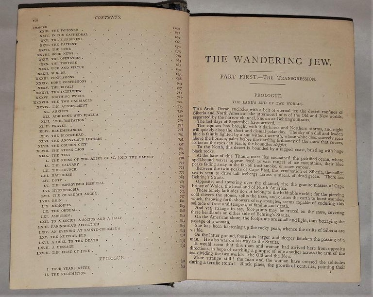 The Wandering Jew by Eugene Sue Complete Edition with Illustrations For Sale 9